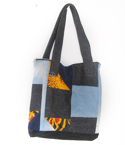 African Shoulder Shopper Bag